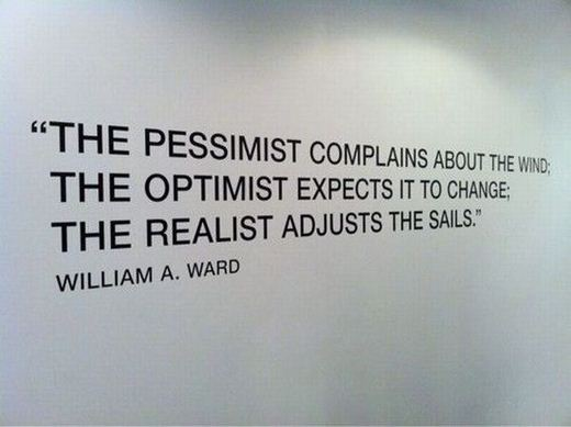 Adjust The Sails quote