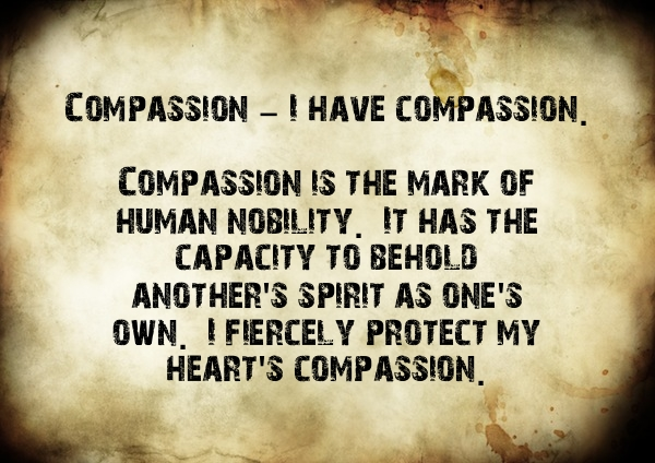 The Creed - Compassion