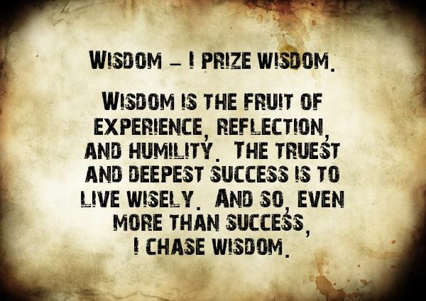 The Creed - Wisdom