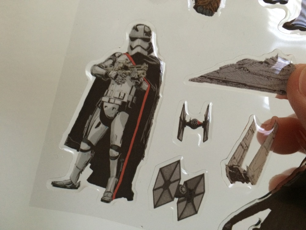 I heard that this stormtrooper in The Force Awakens is Captain Phasma, and inside the body armor is a woman (!)