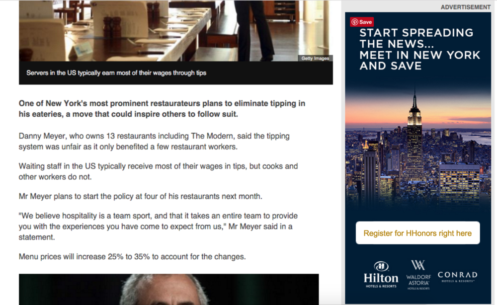 HILTON HONORS - REWARDS PROGRAM - TRY HERE!