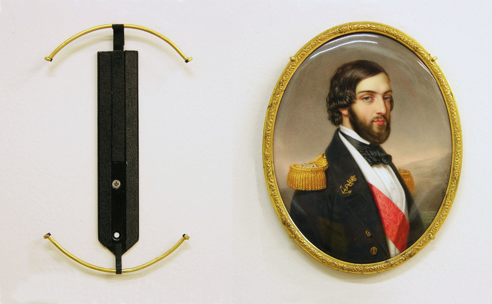 Courtesy of The Saint Louis Art Museum   Sophie Lienard, French, active 1842-1845;  Ferdinand-Philippe, Duc d'Orléans ; mid-19th century; enamel on porcelain; framed: 15.4x12.1cm; Gift of Mrs. Frank Spiekerman, The Frank Spiekerman Collection 28:1933.92