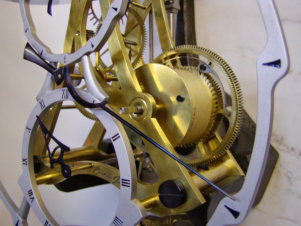 Courtesy of the Arcadian Clock Co.  The Arcadian W Precision Regulator, Erika Johnson (under the guidance of David Munro)