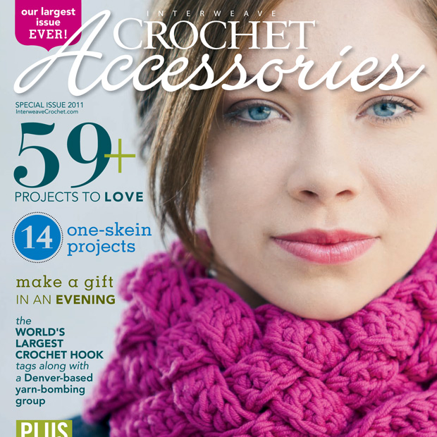 Interweave Crochet Accessories Print Design
