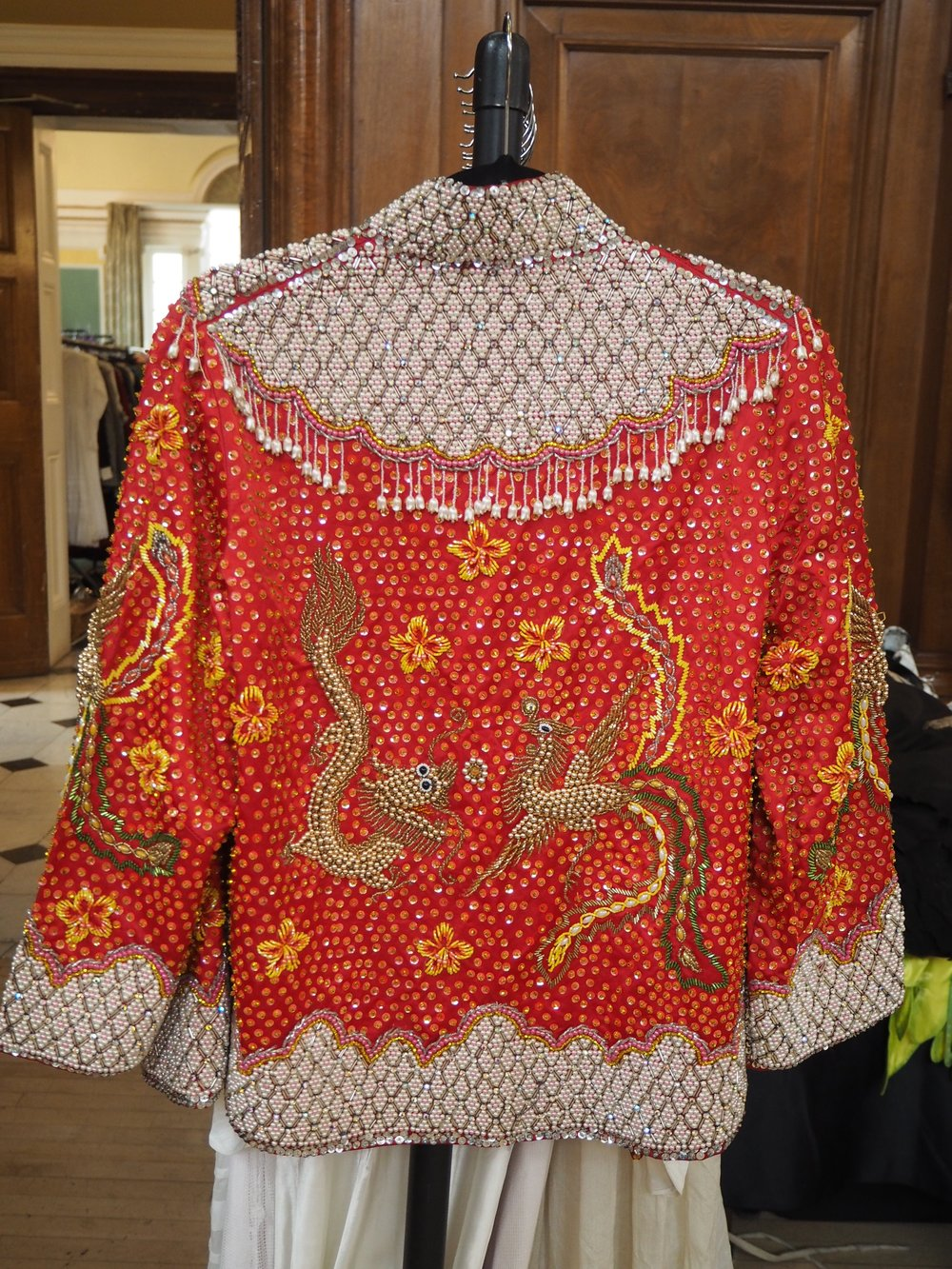 Sequin jacket from Paula Reboredo Vintage