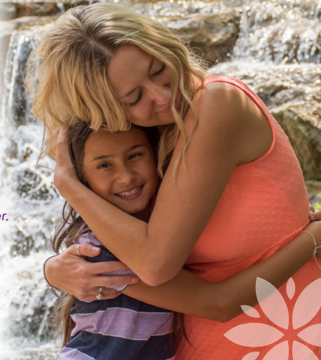 Brandi Swindell, Stanton Founder and CEO, with Paolina - a 9-year-old saved from abortion after an ultrasound at Stanton Healthcare.