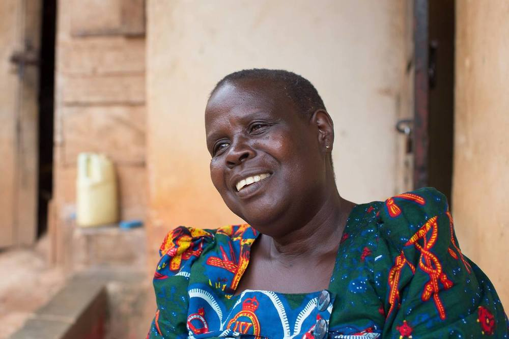 """I've sold fish in the market for the last thirty years, because I never had the chance to go to university. Recently my daughter graduated from Makerere, which is one of the best schools in the country. When I walked through the gates to attend her graduation, I felt so happy, because I never thought I'd see the inside of a university.""(Kampala, Uganda)"