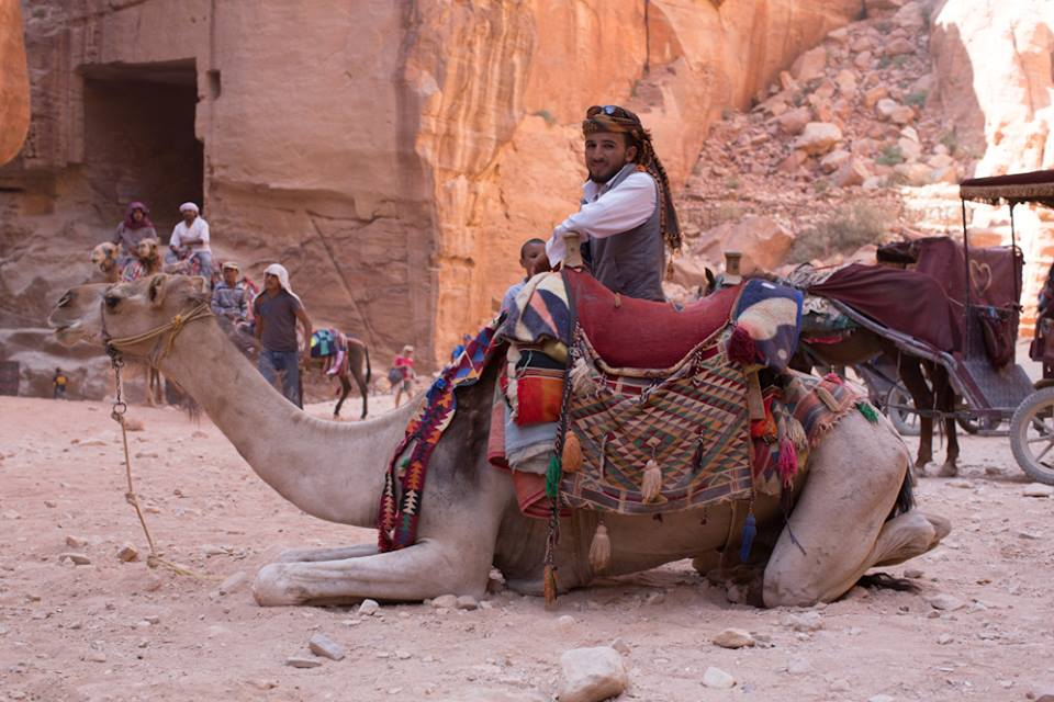 """If you speak gently, you'll find good people wherever you go. If you find a bad person, just move on to the next person."" (Petra, Jordan)"