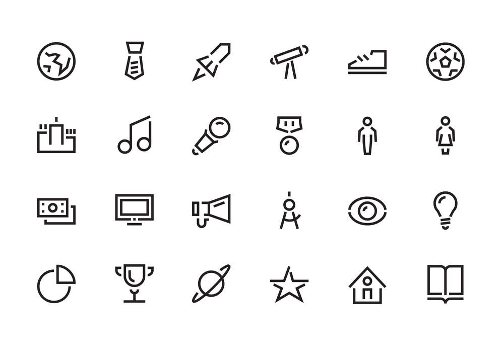 Branded Icon Set