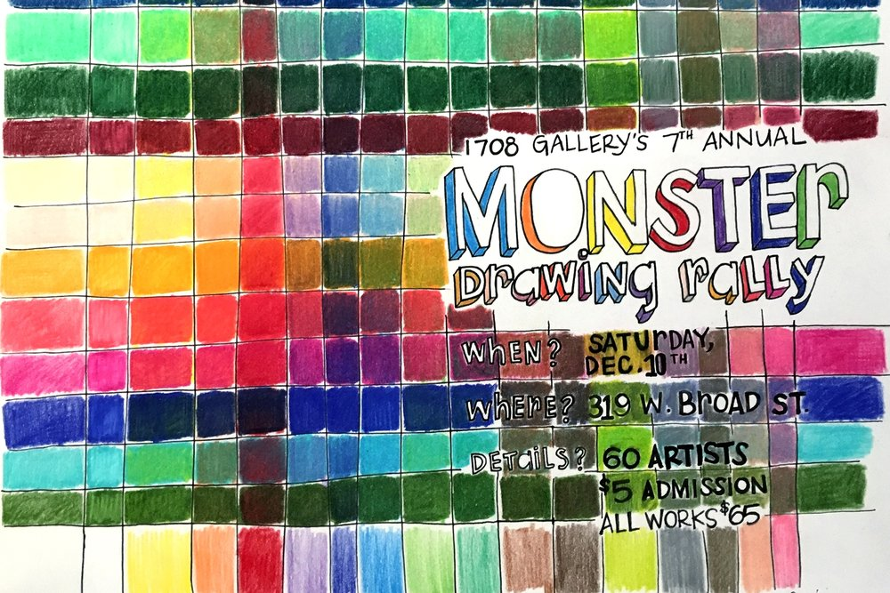 1708 Monster Drawing Rally