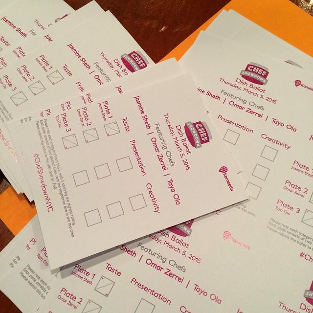 Ballots on ballots!