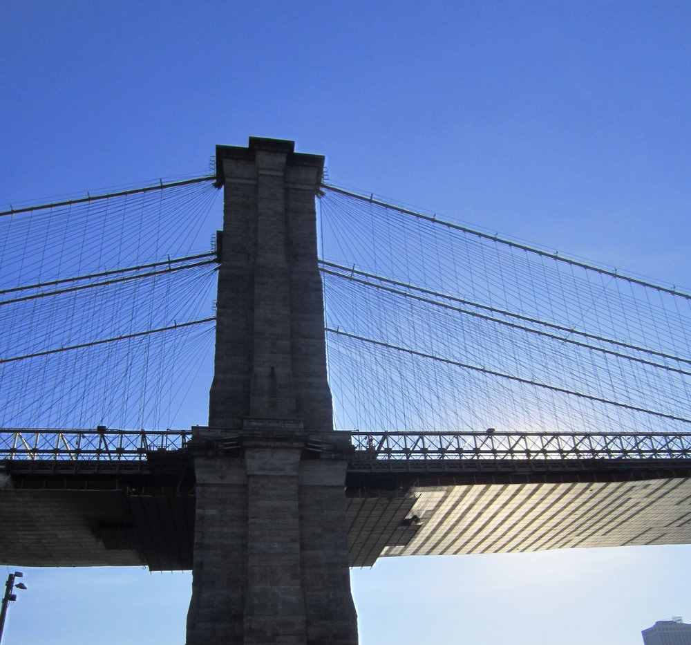 Oh, yeah. Don't mind her. The Brooklyn Bridge is a bit of a Drama Queen.