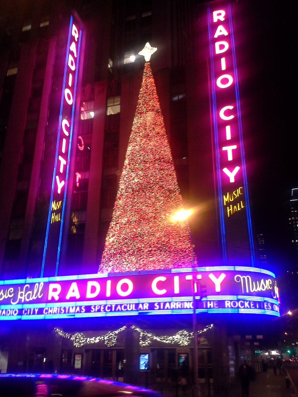New York's no joke when it comes to Christmas
