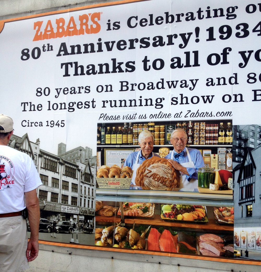 Upper West Side Royalty: Zabar's for life!