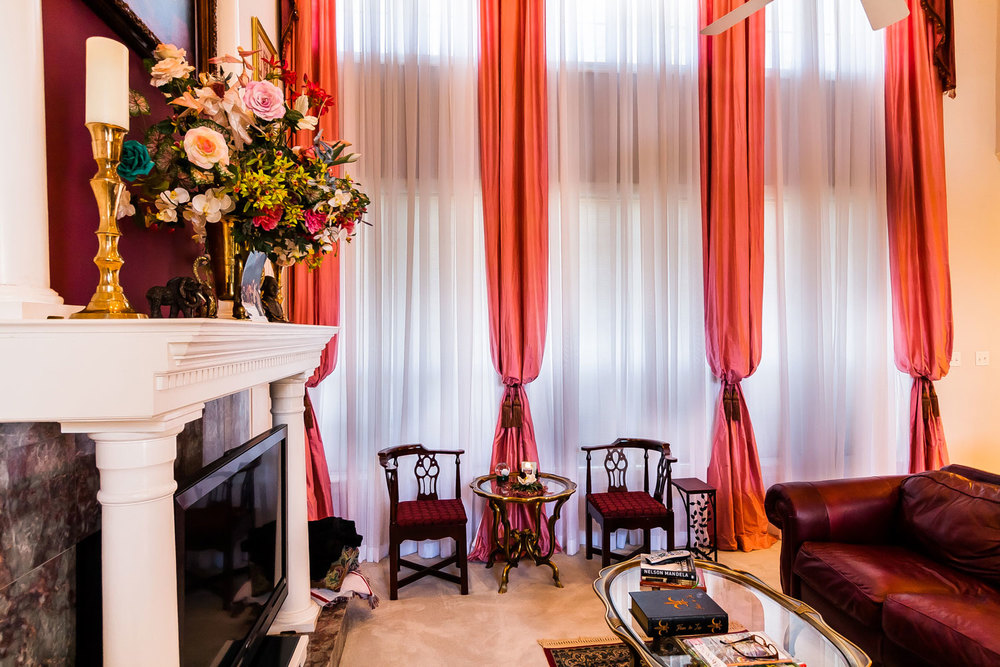 Extra Long Drapes with Sheers