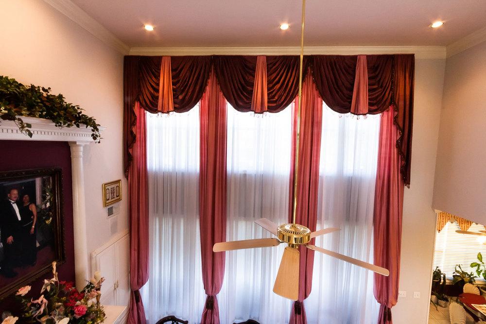 Long Curtain Valance