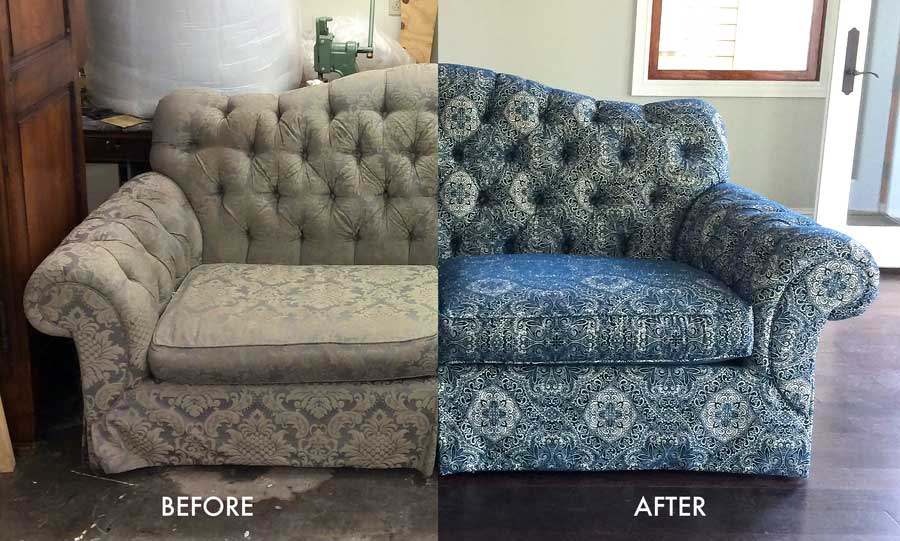 Charming New Orleans Upholstery Sofa