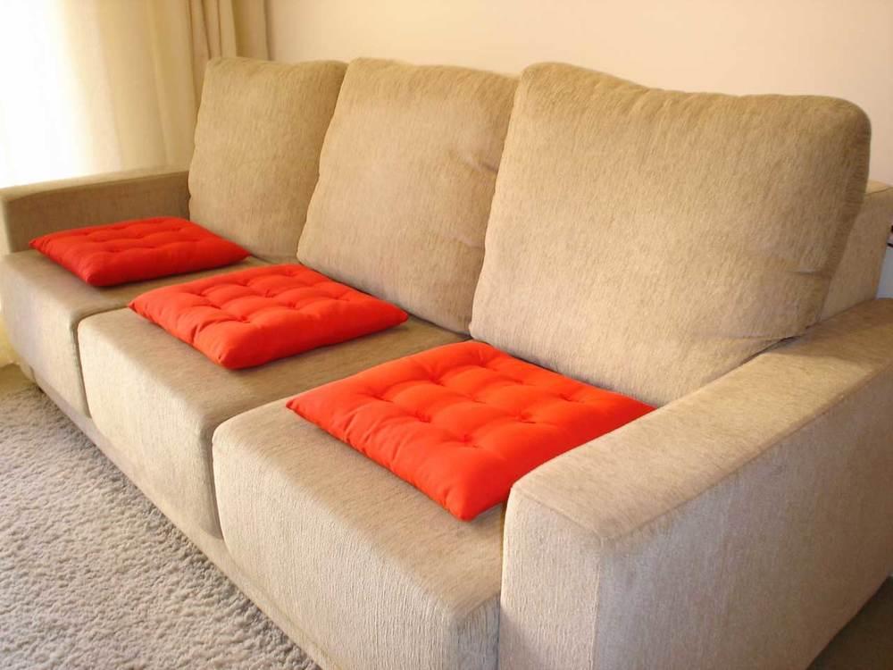 Custom made sofa pillows