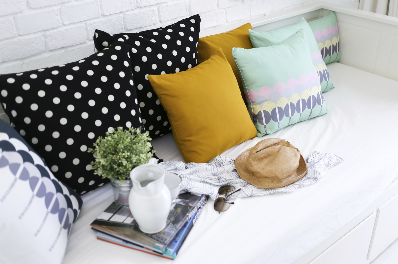 Custom Made Cushions Pillows In New Orleans Luz Custom Curtains