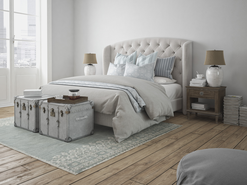 Bedroom Pillows & Bedspread