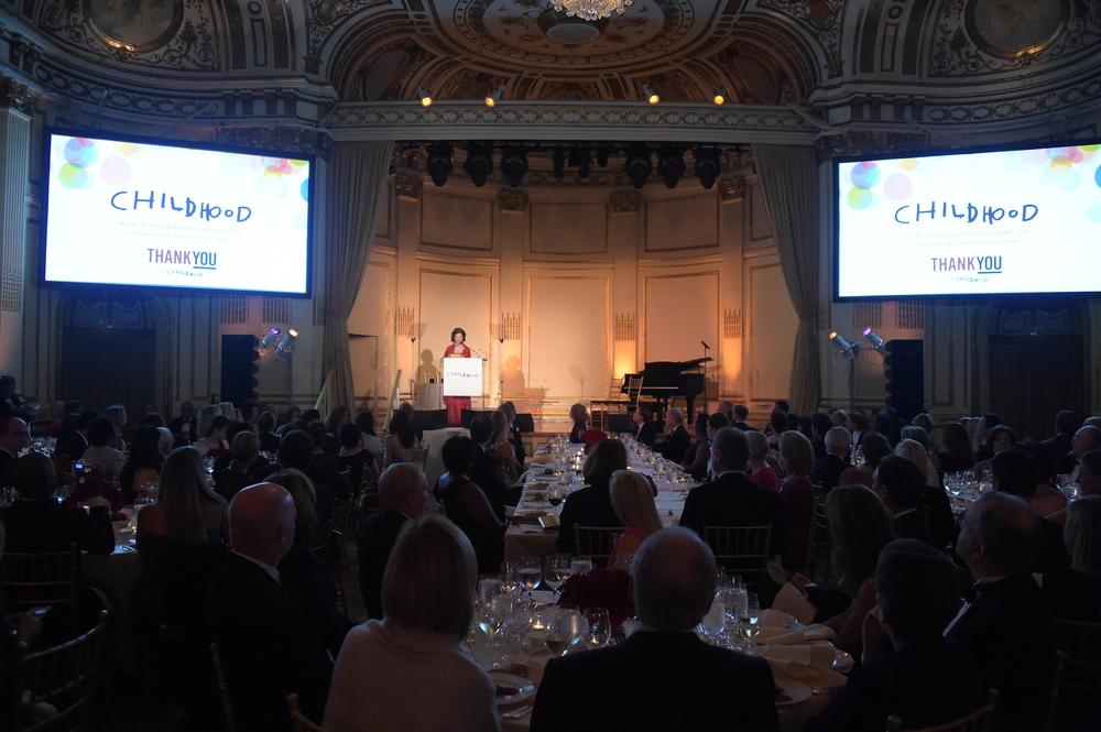 World Childhood Foundation USA ThankYou Gala 2015