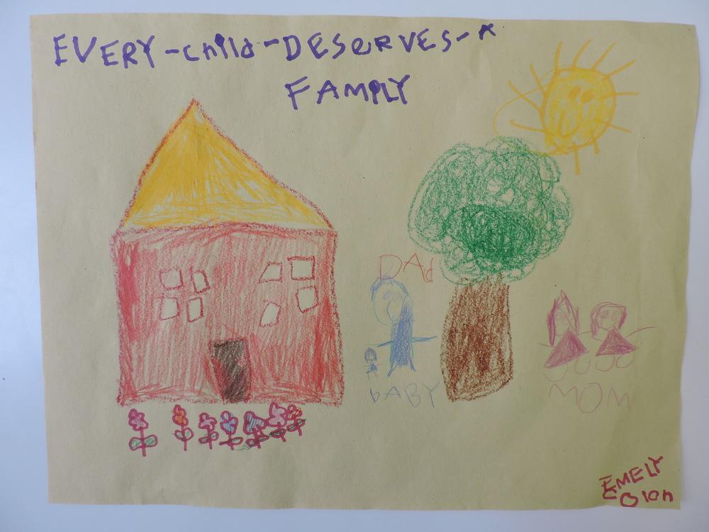 Elementary School Winner:   Emely C., Age 5