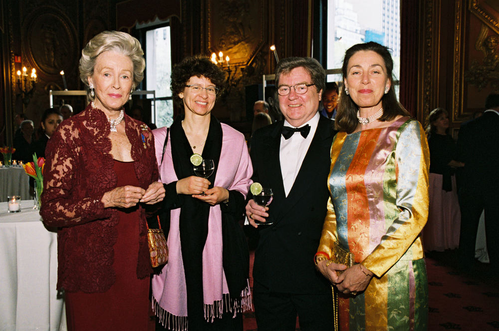 Ms. Duke, Left, at Childhood USA's 2005 Gala.