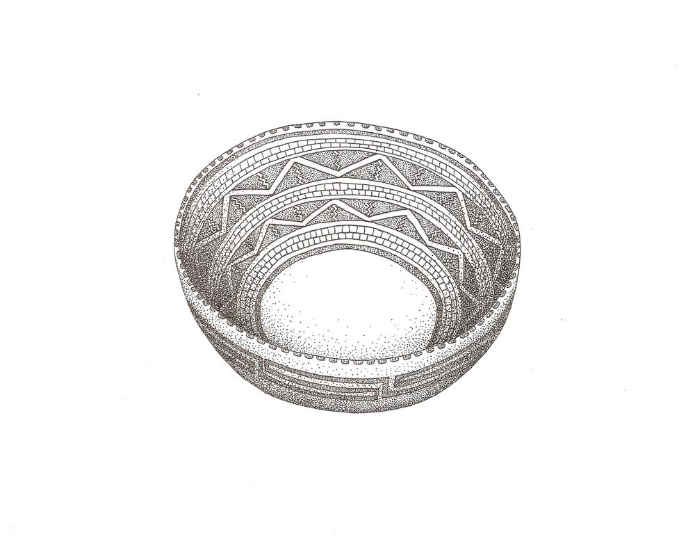 Ceramic Bowl, Talela Florko