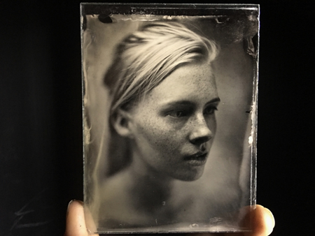 Ambrotype by Christopher R. Perez
