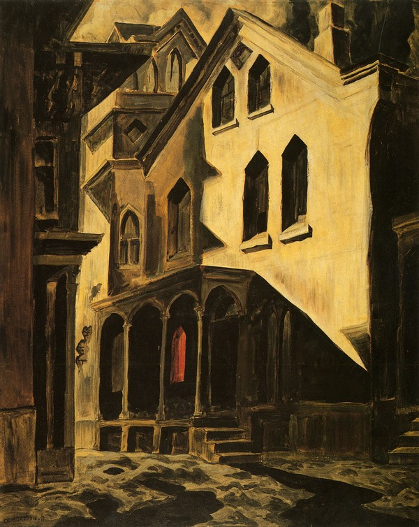 House of Mystery, Charles Burchfield (1924)