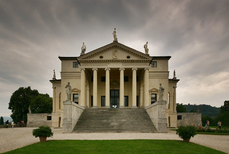 Villa Rotonda, Elevation