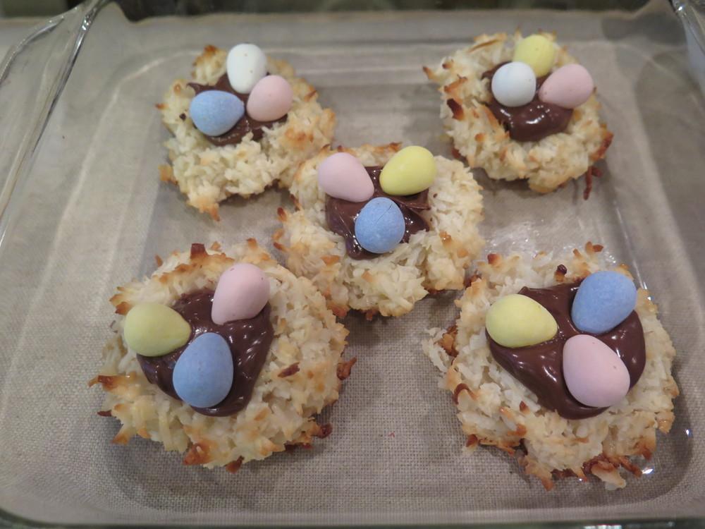 Coconut Macaroon Nutella Nests — Brooklyn Gray