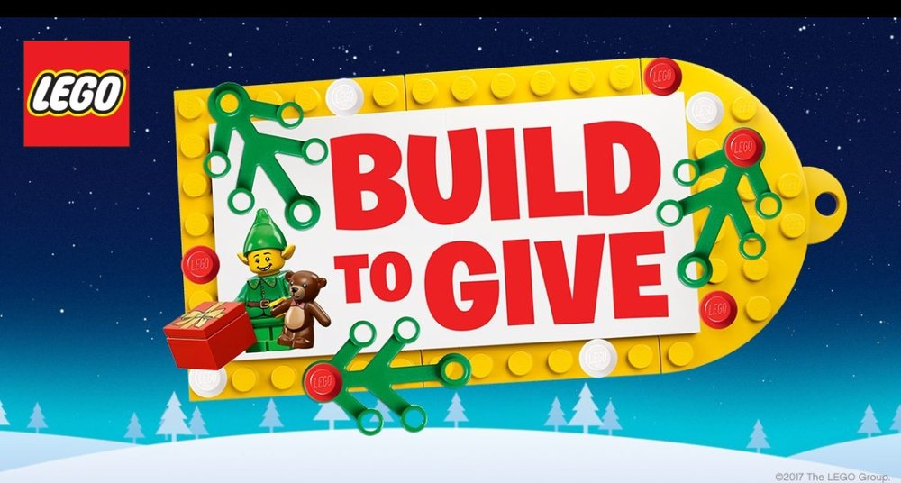 Design your own Christmas bauble or ornament with Lego, take a picture of your creation and tweet it with the hashtag #BuildToGive and Lego will donate a Lego set to a child in hospital courtesy of Fairy Bricks.   Under 13s must use and adult's account with their permission.