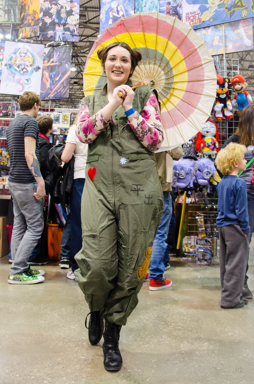 Kaylee Frye from Firefly. This portrait was taken at Planet Comicon 2014.
