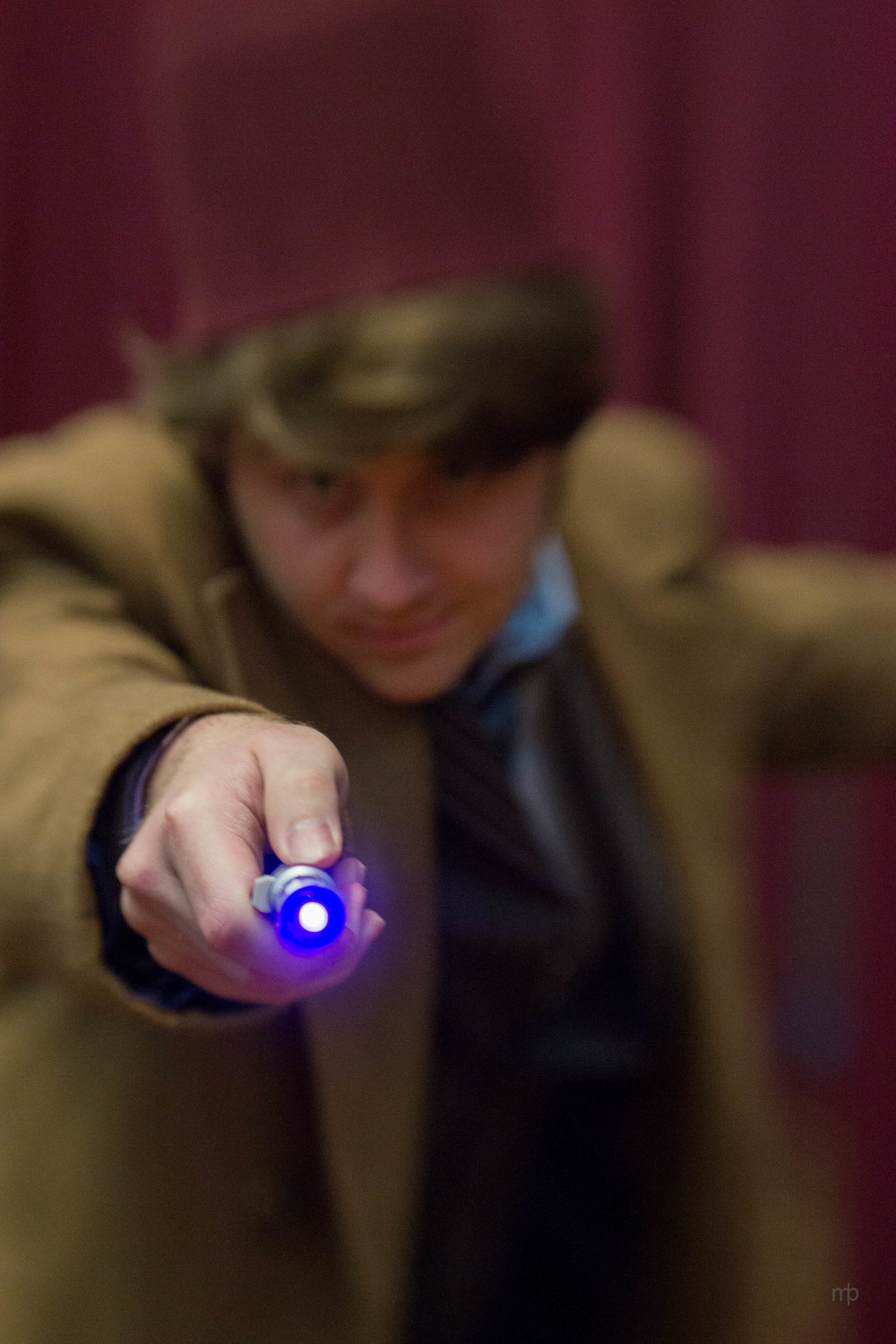 Tenth Doctor Who Cosplay.  Taken at Planet Comicon 2014.