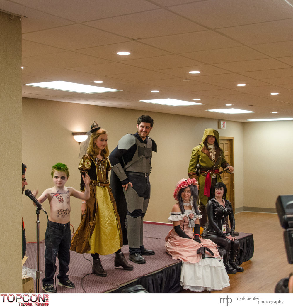 The Winners. Cotume Contest. Cosplay and fun from TOPCON 2015, Topeka, Kansas.