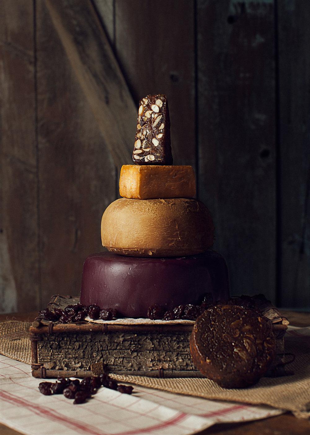 artisan aged cheese cake