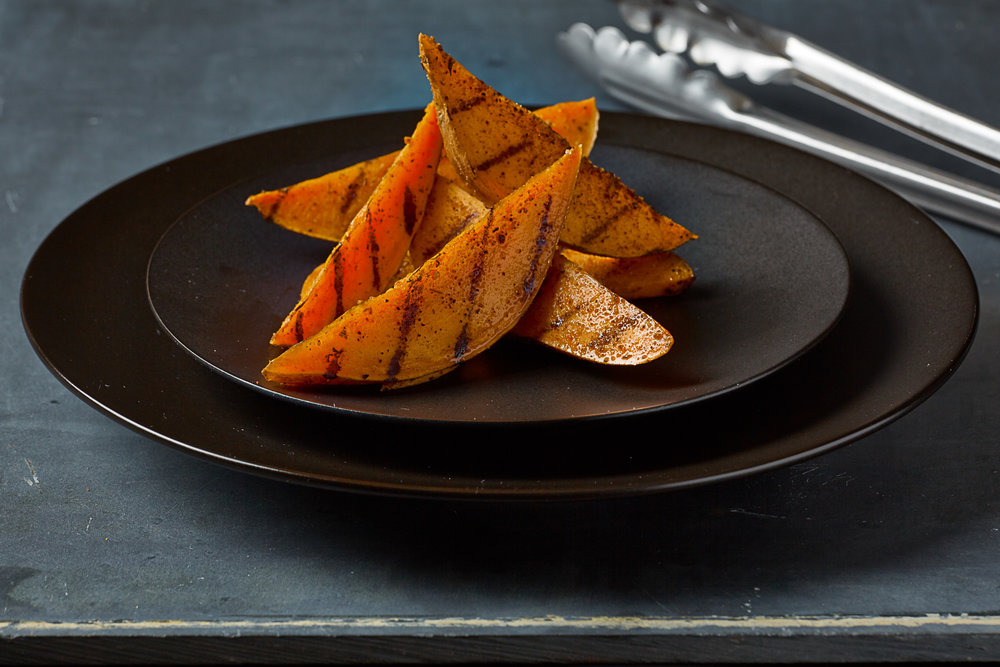 sweet potatoes on a plate