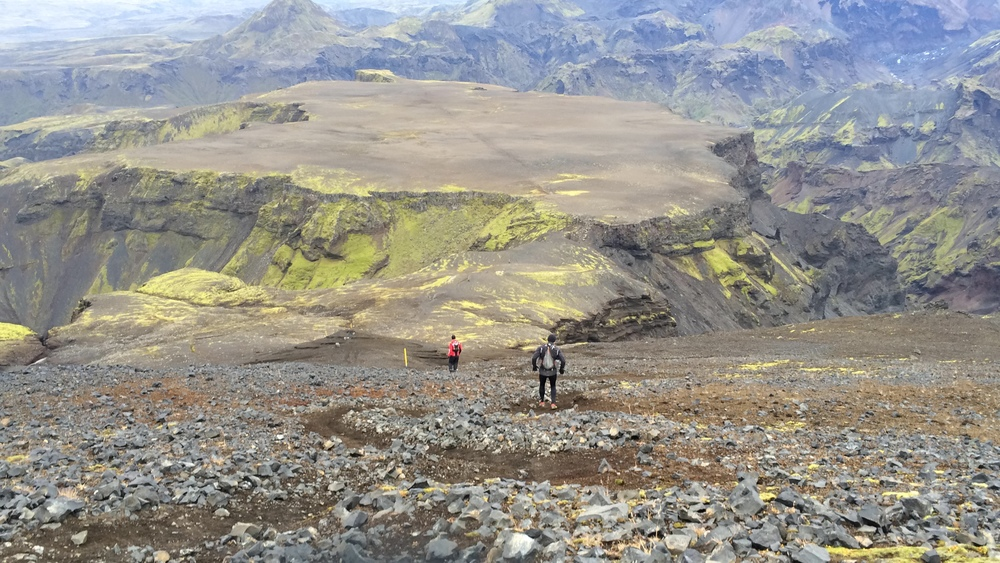 FIMMVORDUHALS    (FIVE-CAIRN TRAIL)   - Run across glaciers and volcanoes -