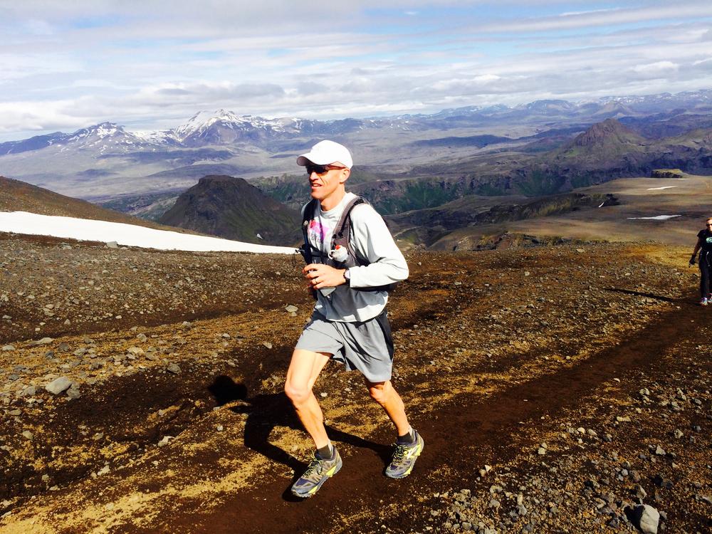 Running uphill in Thorsmork