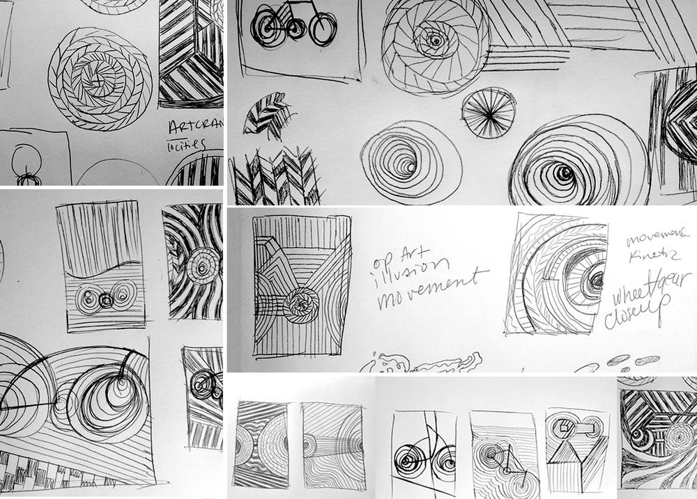 Anne Ulku Artcrank 2014 Tour sketch