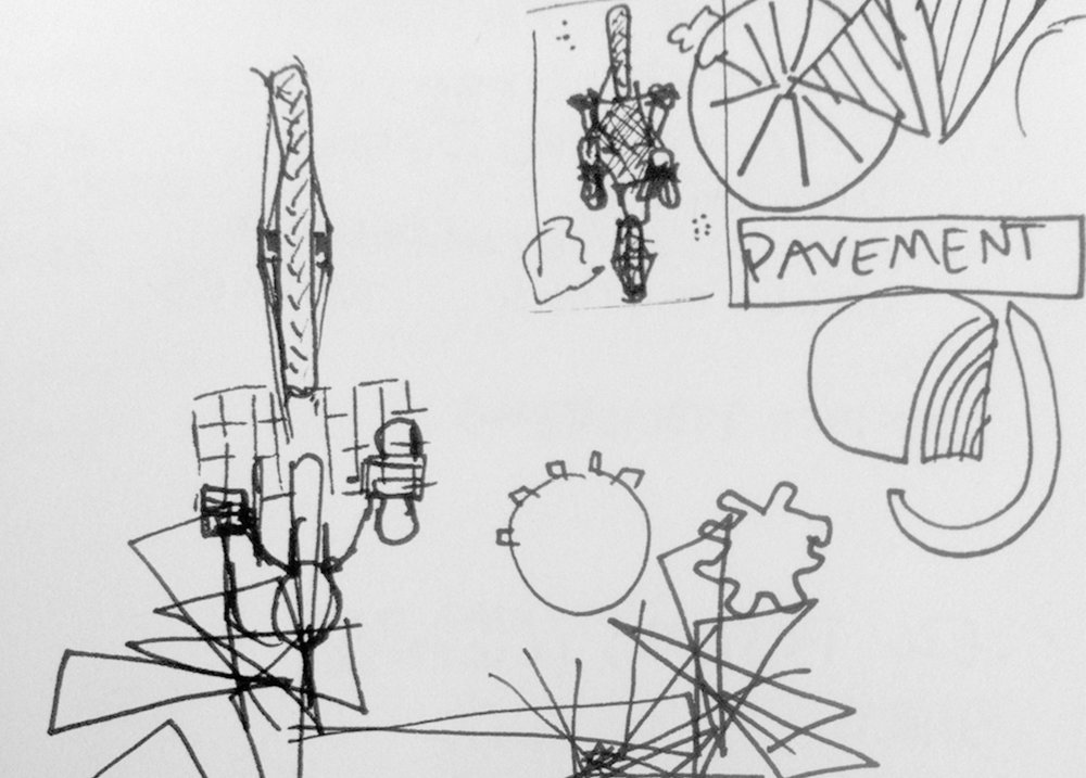 Original Pavement concept sketch