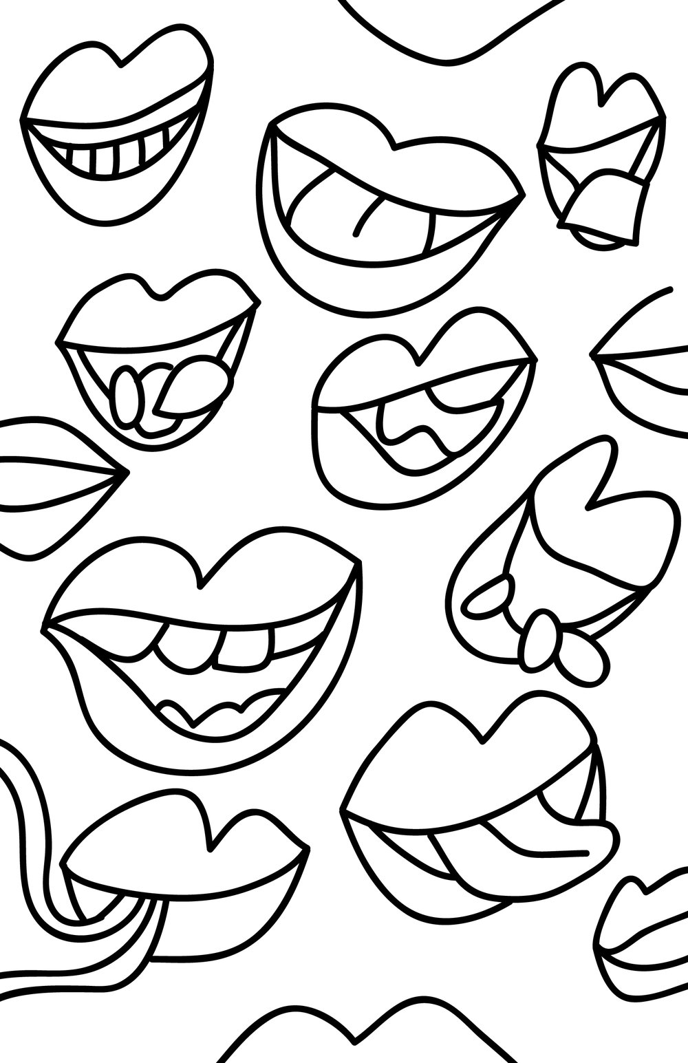 Many mouths