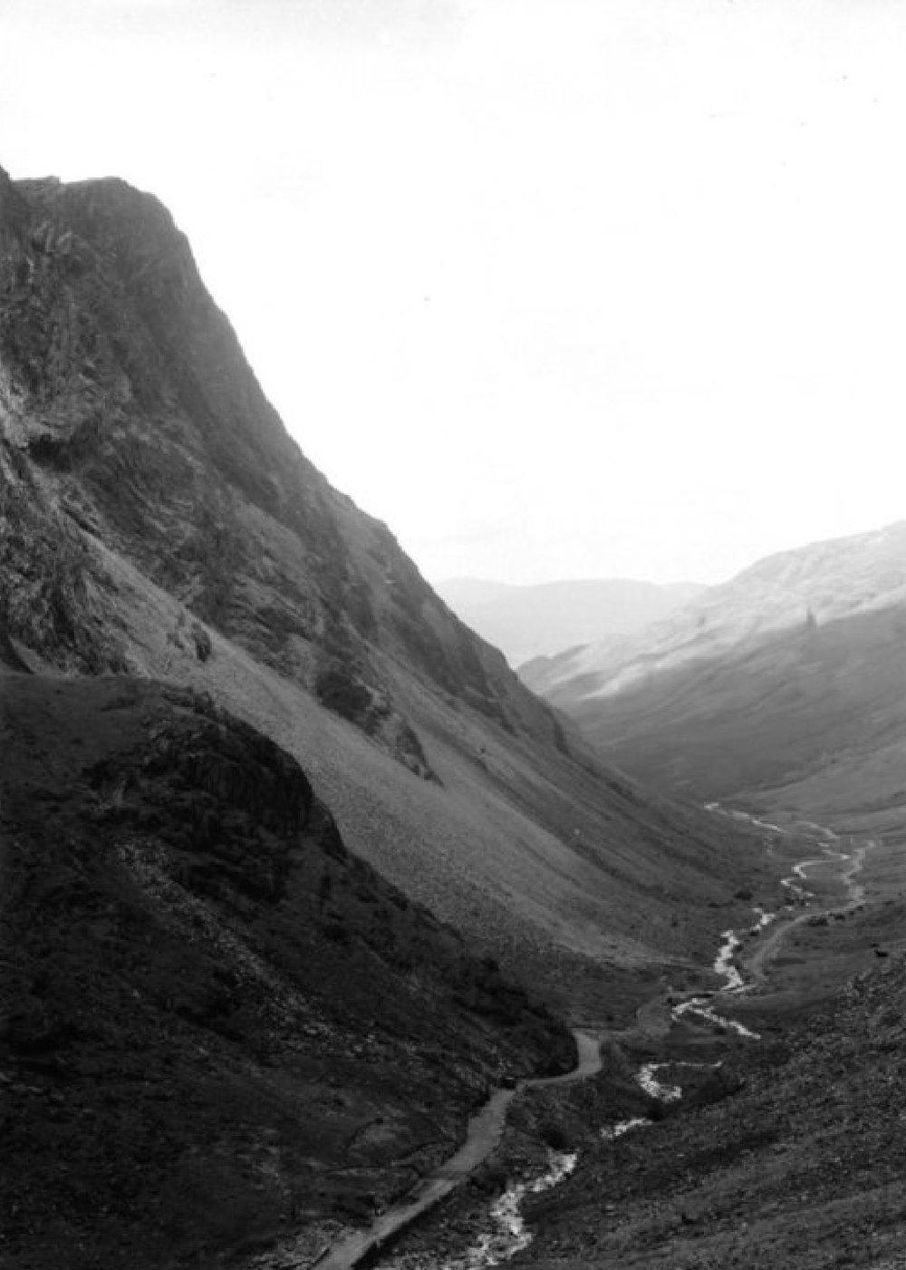 Cumbrian Slate mine, 1942