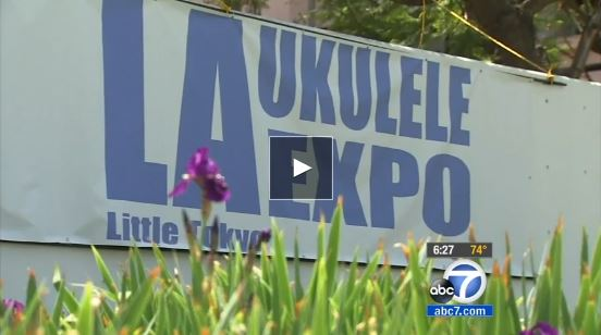 ABC7  : UKULELE PLAYERS COMPETE FOR GUINNESS RECORD