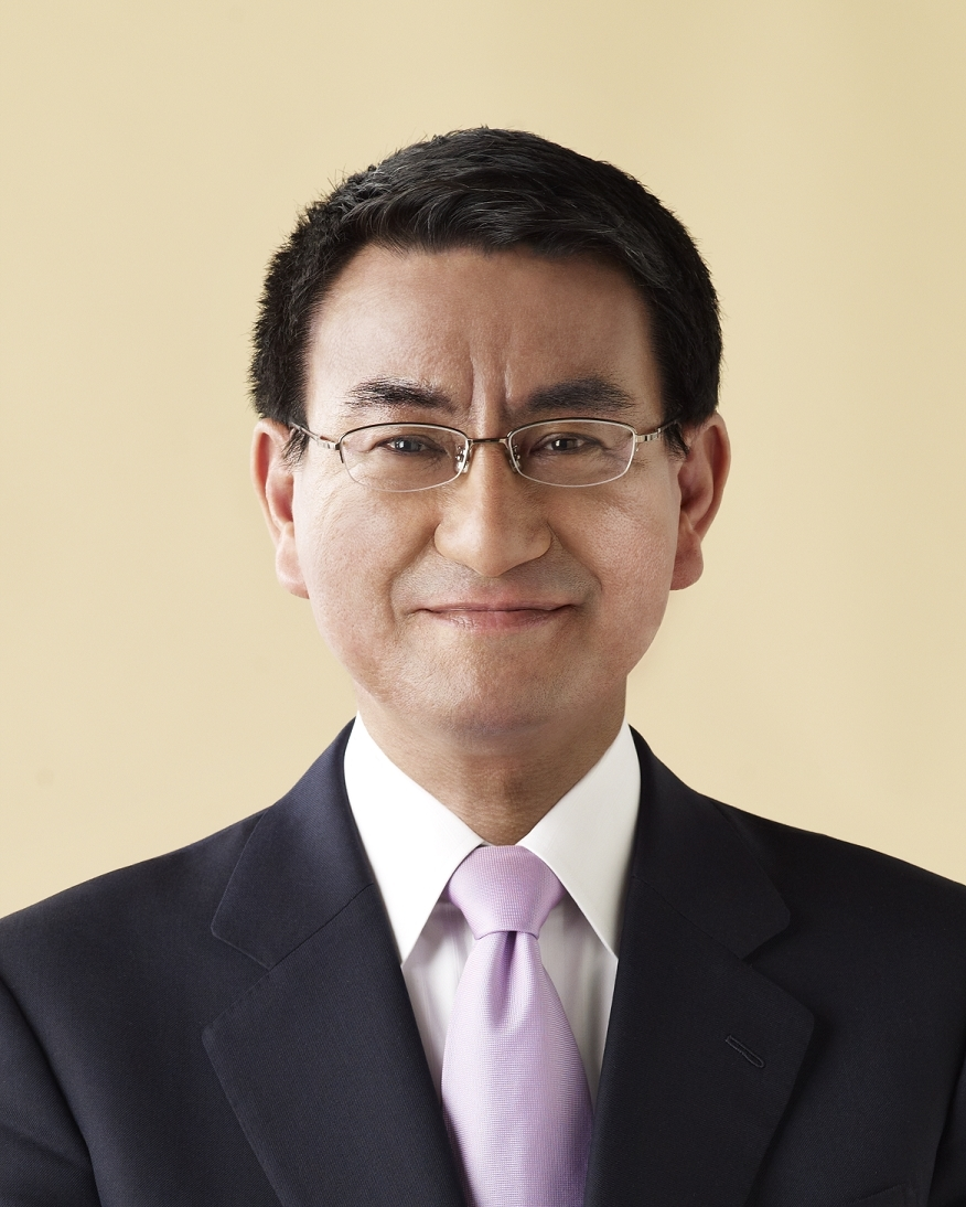 Mr. Taro Kono has served as Senior Vice Minister of Justice and Chairman of the Foreign Affairs Committee and he now currently serves as a Diet member.  Mr. Taro Kono continues in his father's footsteps to help promote the relationship between the JACCC and Japan.