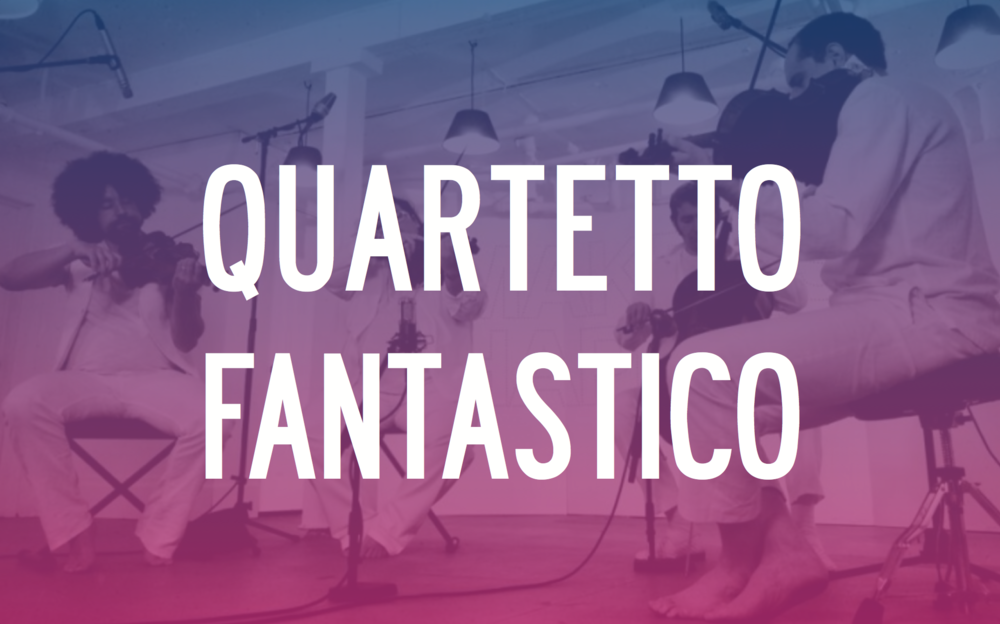 SUNDAY, JULY 5 | CLICK FOR TICKETS MULTI-GENRE STRING QUARTET