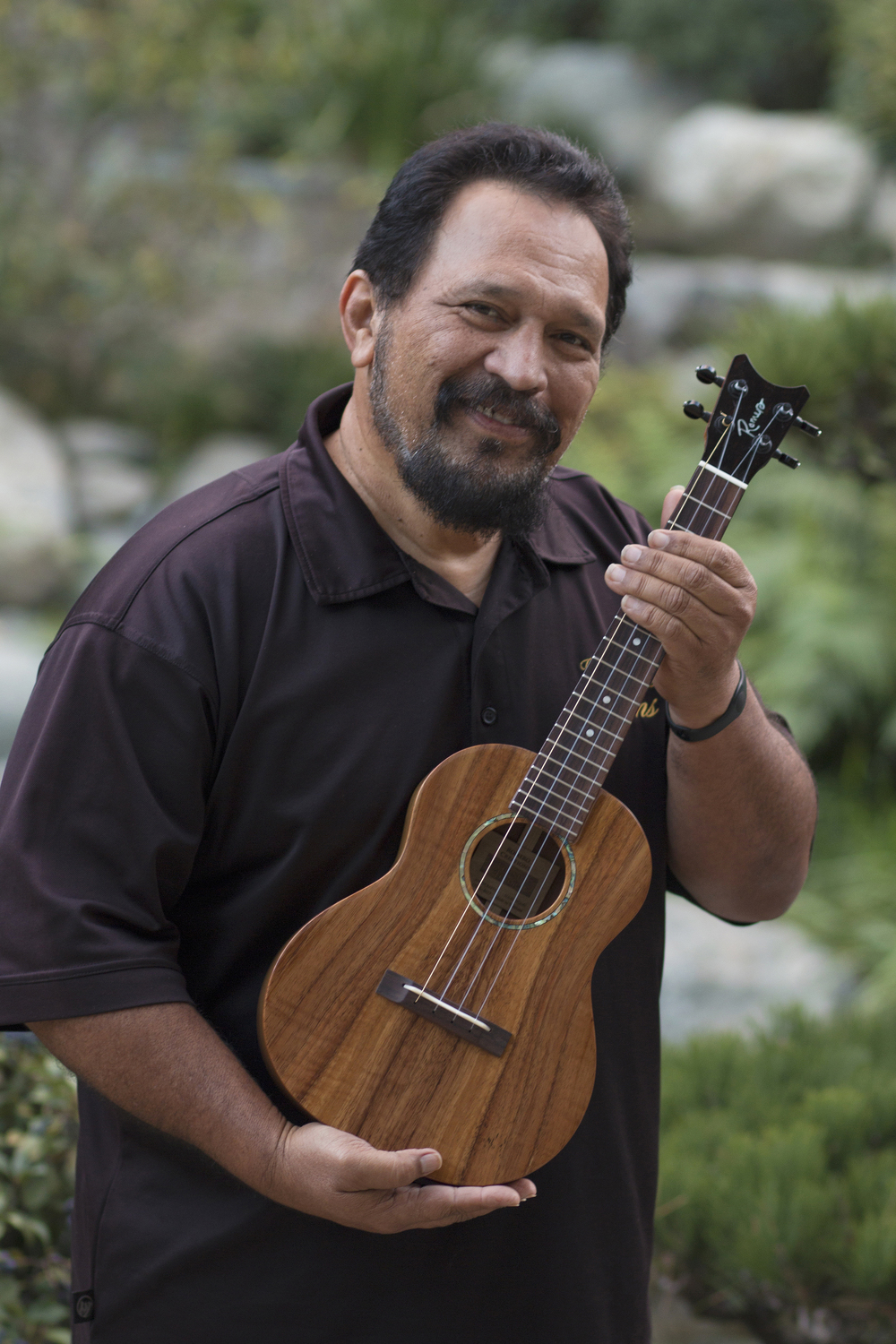 Hawaiian music legend,  Jerome Koko .