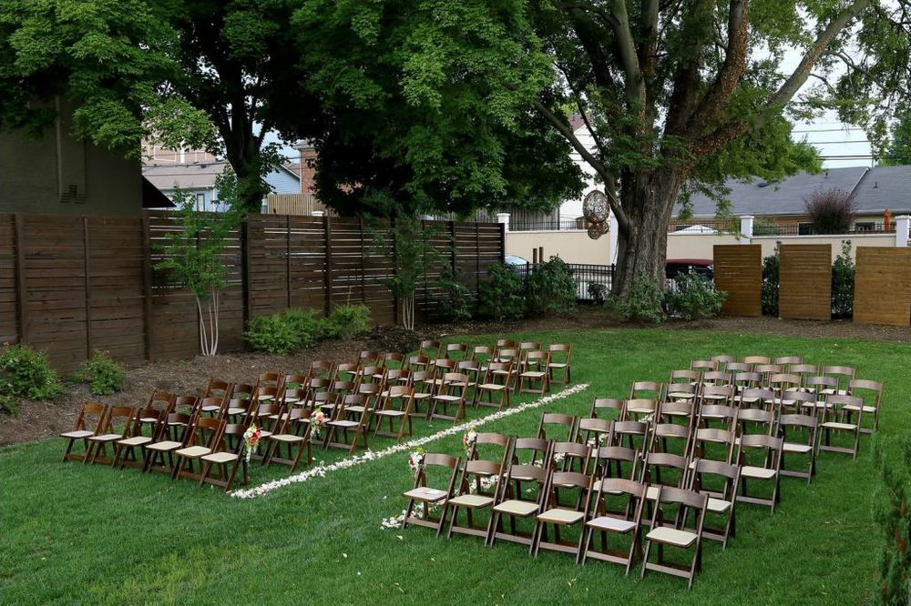 wedding ceremony garden cordelle nashville