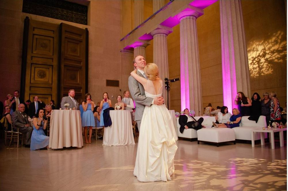 wedding reception Parthenon Nashville
